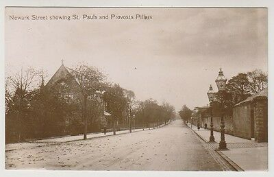 Renfrewshire postcard - Newark St showing St Pauls & Provosts Pillars, Greenock