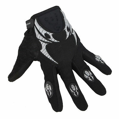 Mens Mountain Bike Cycling Bicycle Motorcycle MTB Sports Full Finger GEL Gloves