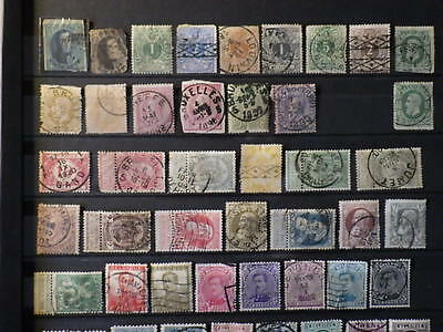 lot 120 timbres stamps BELGIQUE BELGIUM Used Obliteres 1850-1940