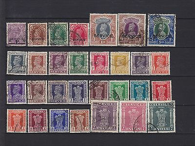 India KGVI Service Used Collection (4)