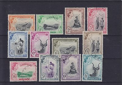 Swaziland QEII SG 53/64 set Used Collection
