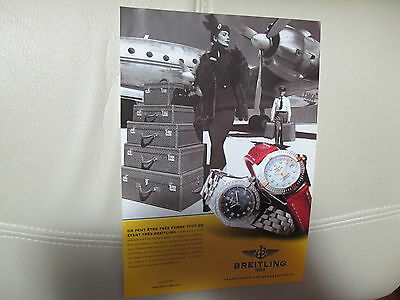 Breitling Watch Print Ad,clipping 04
