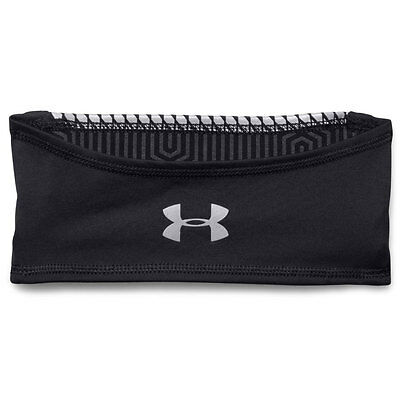 Under Armour 2016 Mens UA ColdGear Infrared Run Band Head Band - Black -One Size