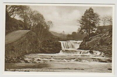Inverness-shire postcard - The Upper Falls of Morar, Fort William