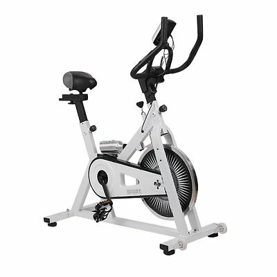 Aerobic Training Spin Exercise Bike Fitness Gym Bicycle Workout Indoor Home UK