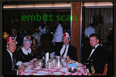 Original Slide, Aboard the P&O-Orient Lines Ocean Liner SS Oronsay in 1964, F