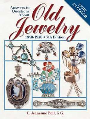 Old Vintage Jewelry ID$ 1840up Guide Filigree Cameo Etc