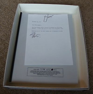 Fyc Nocturnal Animals  Screenplay Script Signed Letter Tom Ford Fyc For Your