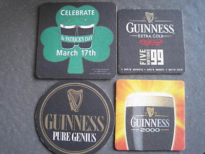 Various Guiness beer mats.............