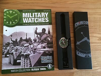 Eaglemoss Military Watches - Edition 4 Russian Military