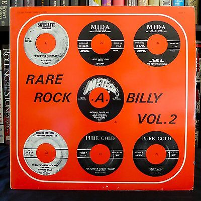 RARE ROCK-A-BILLY Vol 2 Ray Scott Bill Bell Unknowns COLLECTOR MONO LP