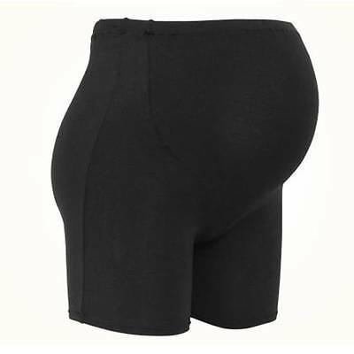 NWT BLACK Pregnant womens Modal Panties Maternity Tummy Support Underwear