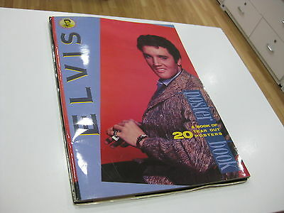 Elvis Presley Poster Book 20 Tears Out Posters  1987