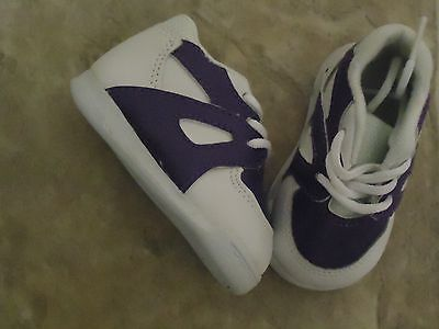 My Twinn 24'' Doll Purple And White Tennis Shoes / Sneakers  Brand New