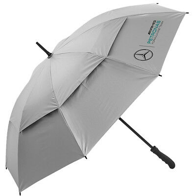Mercedes AMG Petronas F1 Team Double Canopy Umbrella - Silver 33% OFF RRP