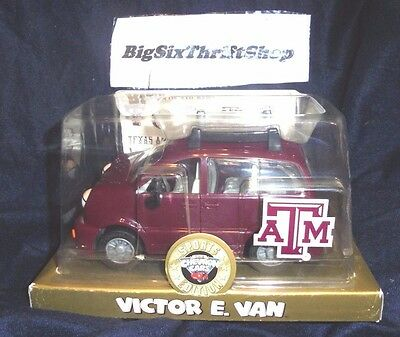 Chevron Cars Texas A & M Aggies Sports Edition Victor E. Van with Stickers