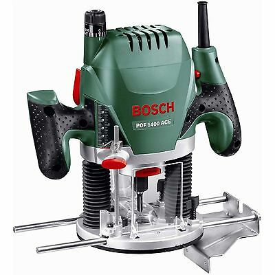 Bosch Pof 1400Ace Router 1400W Soft Grip + Dust Extraction
