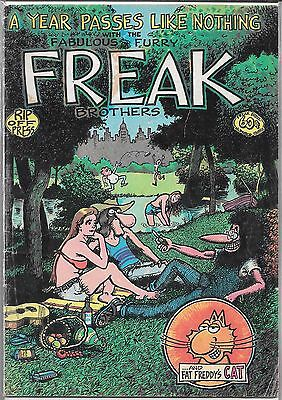The Fabulous Furry Freak Brothers #3 (Gd) 2Nd Printing