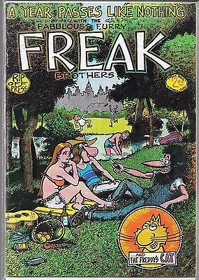 The Fabulous Furry Freak Brothers #3 (Gd/vg) 8Th Printing