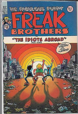 The Fabulous Furry Freak Brothers #10 (Fn/vf)