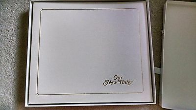 Our New Baby Photo Album By Burnes Of Boston New With Pages To Document Events