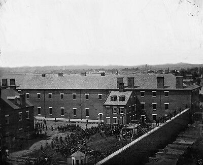 Execution of the Lincoln Assassination Conspirators - 8x10 US Civil War Photo