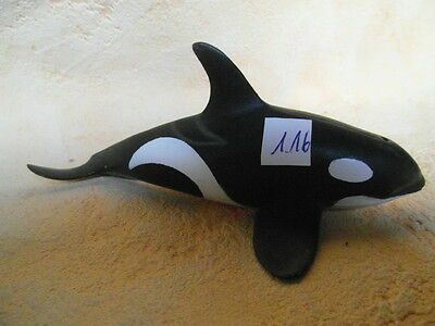SCHLEICH 16091 ORKA ORCA SEETIERE ca 13cm Lang  1.16 k12