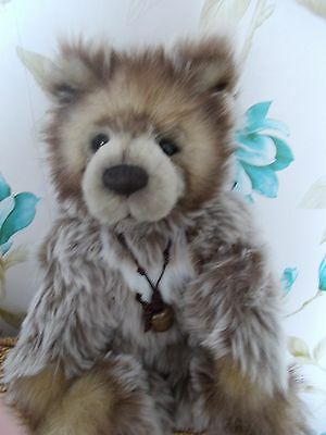 BNWT Charlie Bears, 10th ANNIVERSARY DIESEL. LIMITED EDITION. MOTHERS DAY GIFT.