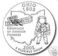 US Quarter  2002 Ohio P