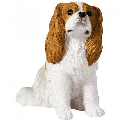 Cavalier King Charles Figurine Hand Painted Blenheim – Sandicast