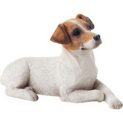 Jack Russell Terrier Figurine Hand Painted Brown Smooth – Sandicast