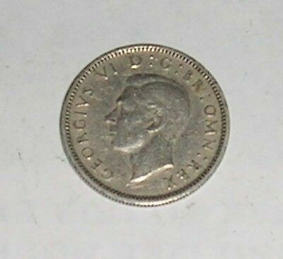 George Vi 1942 Sixpence Coin