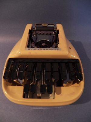 Vintage Stenograph Reporter Shorthand Machine Stenograph with Case