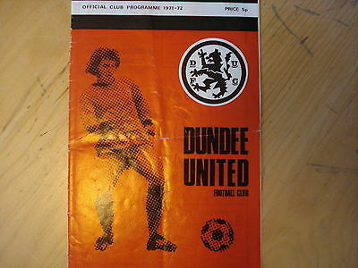 Dundee United V Aberdeen                       Scottish Cup               5/2/72