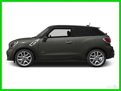2013 Mini Other S ALL4 PREMIUM PACKAGE SPORT PACKAGE COLD WEATHER 2013 MINI Paceman Gray SUV S ALL4 PREMIUM PACKAGE SPORT PACKAGE COLD WEATHER