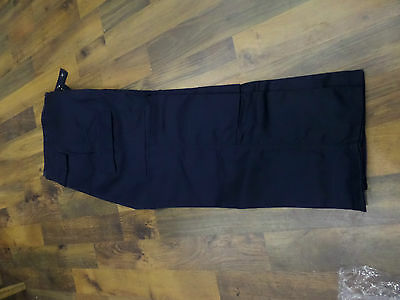 BRAND new navy work trousers 30 long