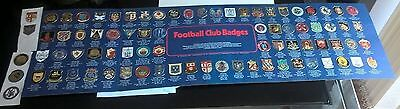 Esso Collection Football Club Badges Complete