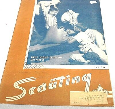 Nice 1950  May Boy Scout  Scouting Magazine