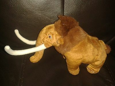 """8"""" Manny from ICE AGE films Beanie Soft toy by TY VGC & FREE P&P"""