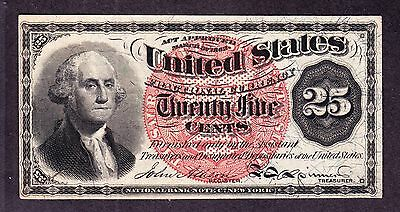 US 25c Fractional Currency FR 1303 Ch CU