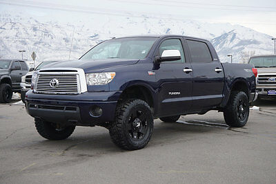 2010 Toyota Tundra LIMITED TRD TUNDRA CREW MAX LIMITED 4X4 TRD OFF ROAD LEATHER CUSTOM LEVEL KIT WHEELS TIRES
