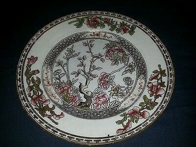 Mid-Victorian Porcelain Hand Coloured Coalport Side Plate.