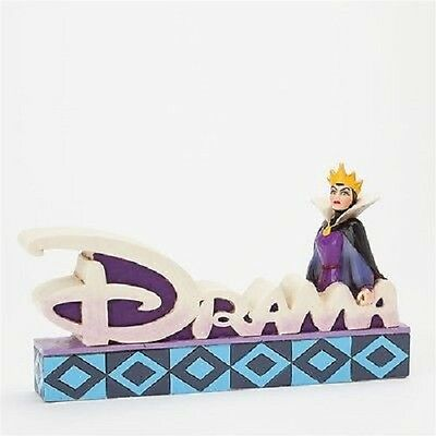 Evil Queen Drama Plaque Figurine Disney Jim Shore Figurine