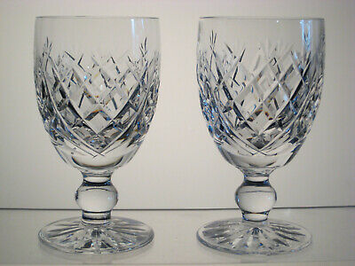 """DONEGAL by WATERFORD Claret Wine/s 4 3/4"""", Signed"""