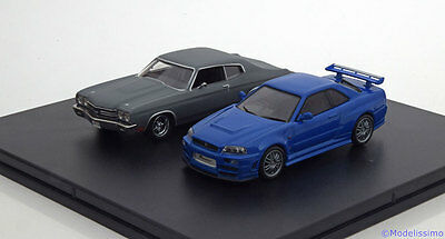 1:43 Greenlight 2car Set Fast and Furious 4 Sean