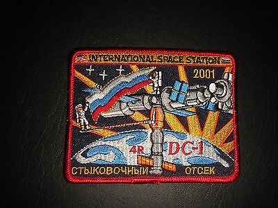 Nasa Space Shuttle Era International Space Station Iron On Patch