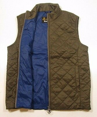 Barbour Men's Olive Green Keelson Quilted Vest