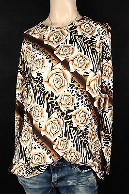 NEW WOMEN TUNIC  size  18/20  TOP  LONG SLEEVE  BLOUSE  LADIES   7111