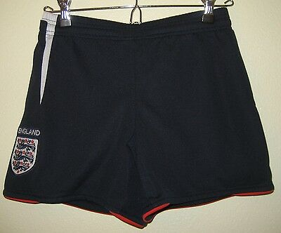 Kid's Navy Athletic Shorts from England - Size YS