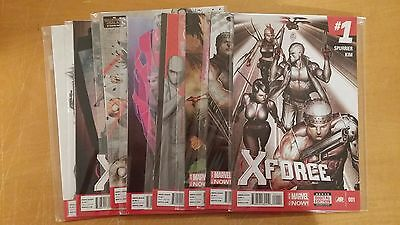 Marvel Comics Lot Of 8 X-Force #1, 2, 3, 5, 6, 7, 8, & 10   Combined Shipping